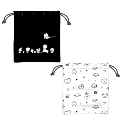 [Pre-order] BT21 Cafe Drawstring bag