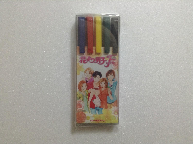 Matsumoto Jun Hana Yori Dango Final Five Color Pen Set