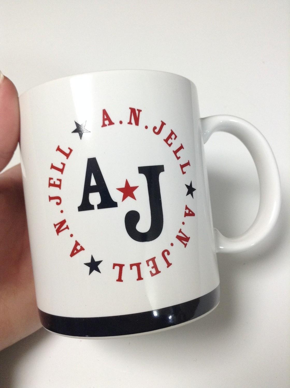 Kis-My-Ft2 and Hey Say JUMP A.N.Jell Drama Mug Cup *RARE*