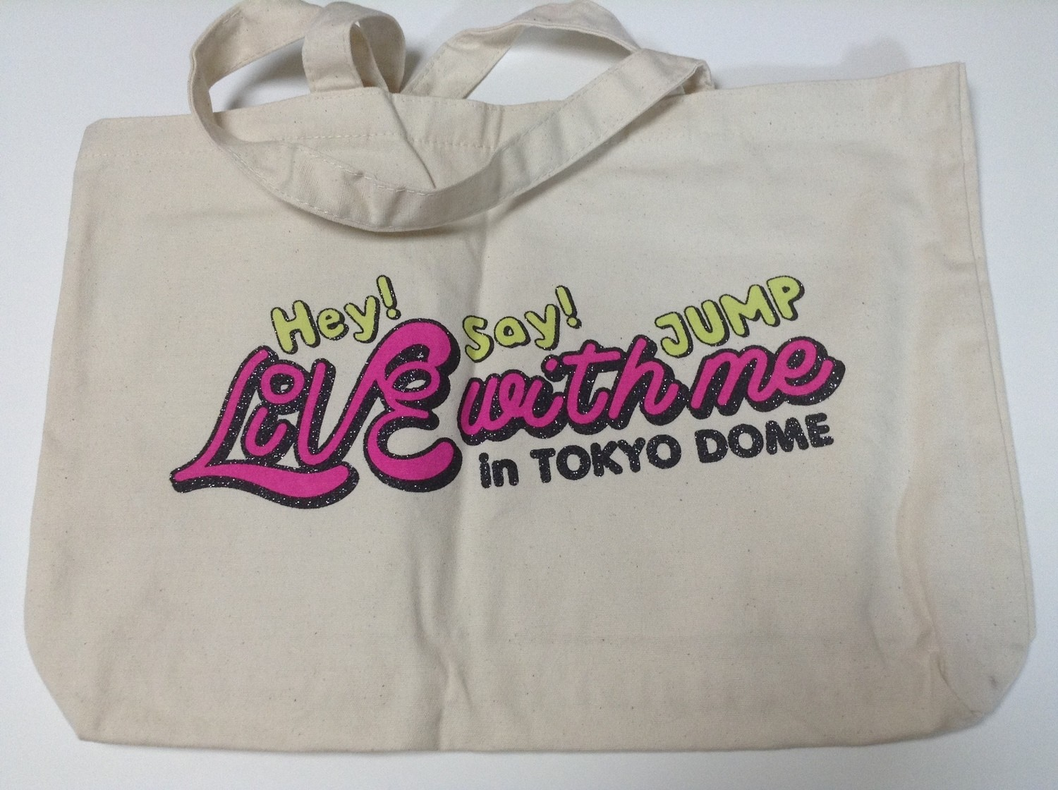 Hey Say JUMP Live With Me Shopping Bag