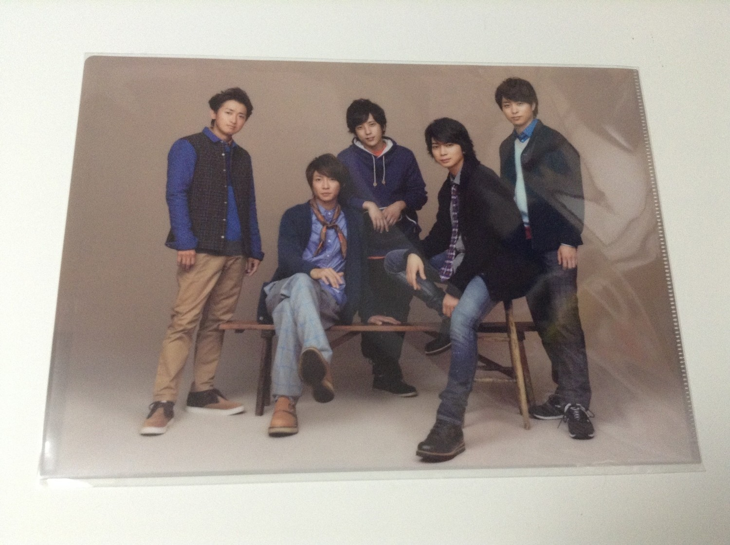 Arashi LOVE Group Clearfile