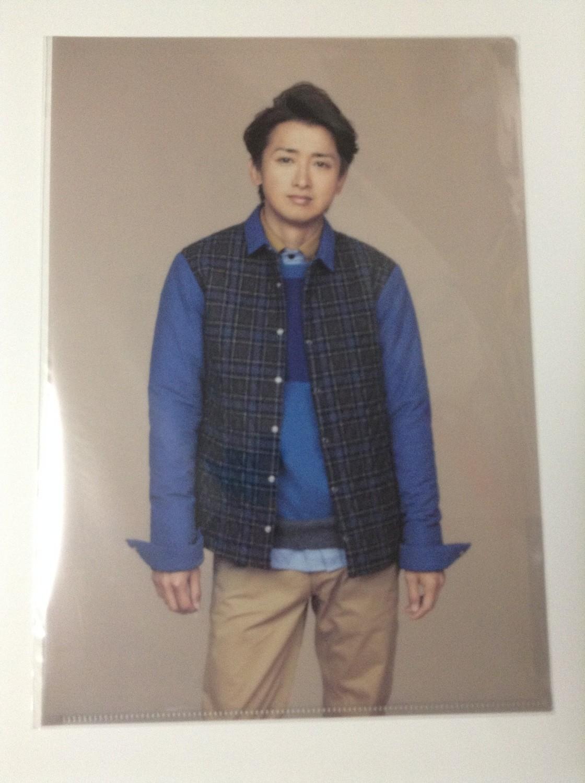 Arashi LOVE Ohno Satoshi Clearfile