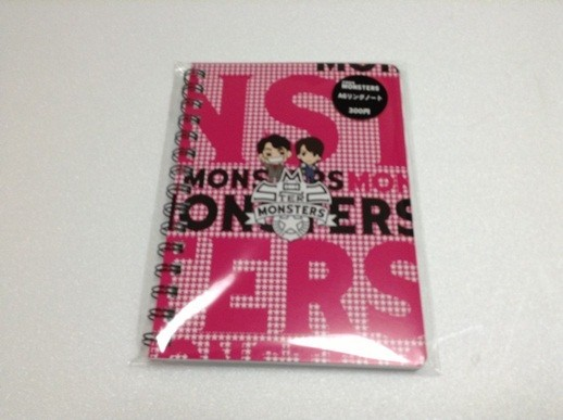 MONSTERS 7-11 Notebook
