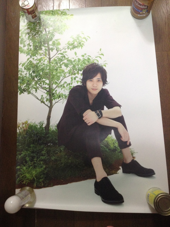 Arashi Beautiful World Ninomiya Kazunari Poster