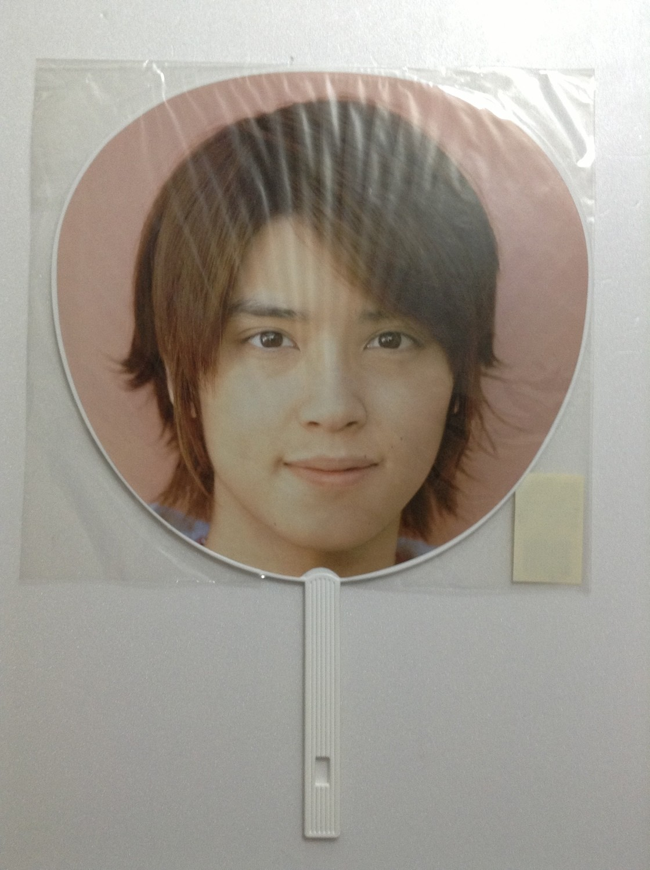 NEWS Yuya Tegoshi Pacific Tour Concert Uchiwa (White)