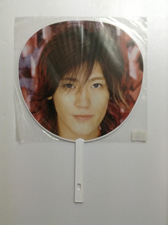 Jin Akanishi KT Live Uchiwa