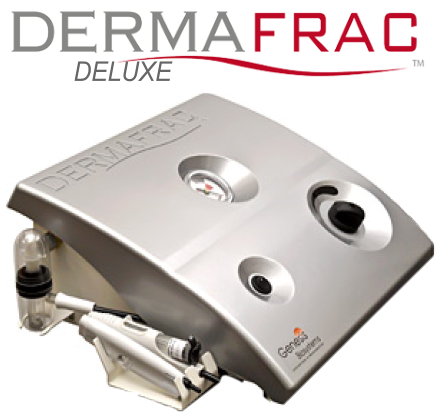 NEW DermaFrac DELUXE Micro-Channeling +Crystal free microdermabrasion+ LED  therapy