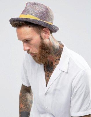 Sombrero borsalino de paja de Catarzi