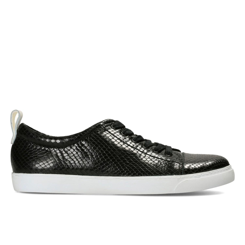 Zapatos Glove Echo Efecto Serpiente Negro TN-2380610