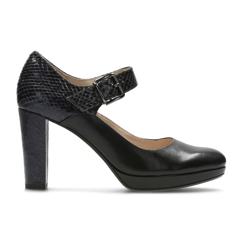 Zapatos Kendra Gaby Cuero Negro TN-2380418