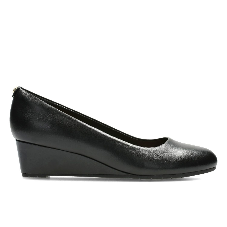 Zapatos Vendra Bloom Cuero Negro TN-2380544