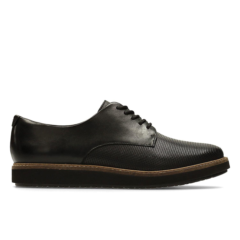 Zapatos Glick Darby Cuero Negro TN-2380201