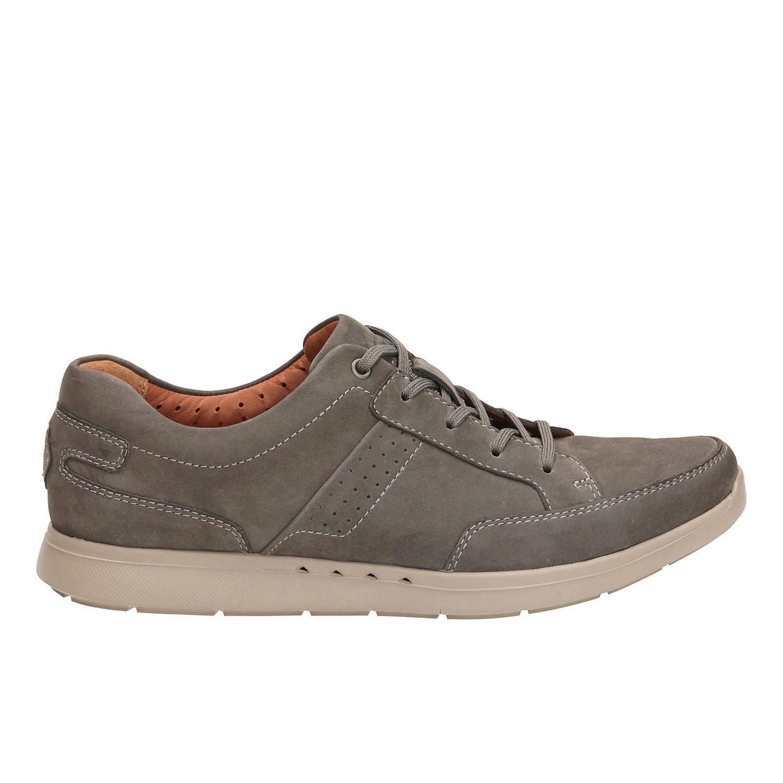 Zapatos UnLomac Lace Nobuck Gris TN-2380555
