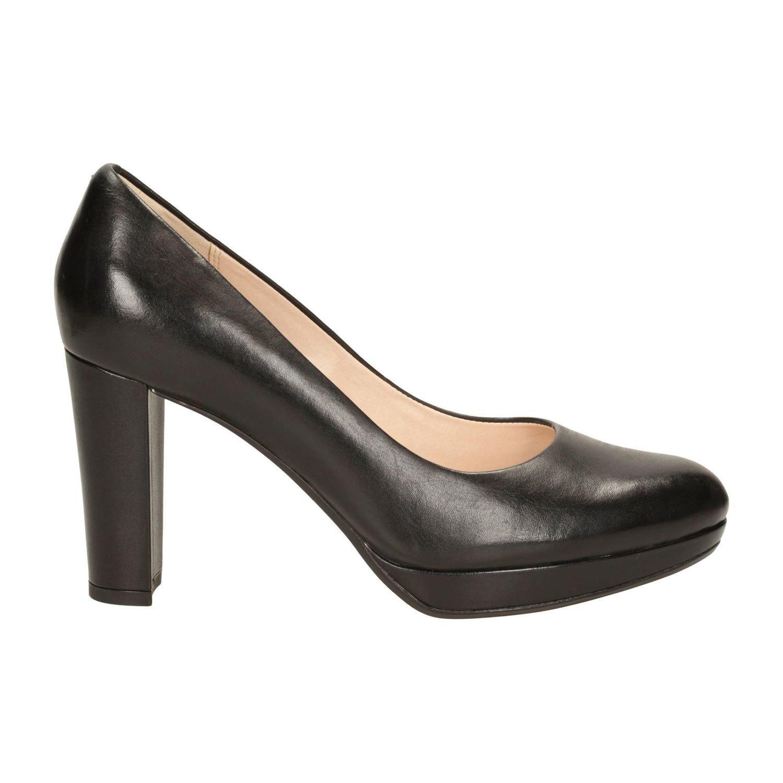Zapatos Kendra Sienna Cuero Negro TN-2380506