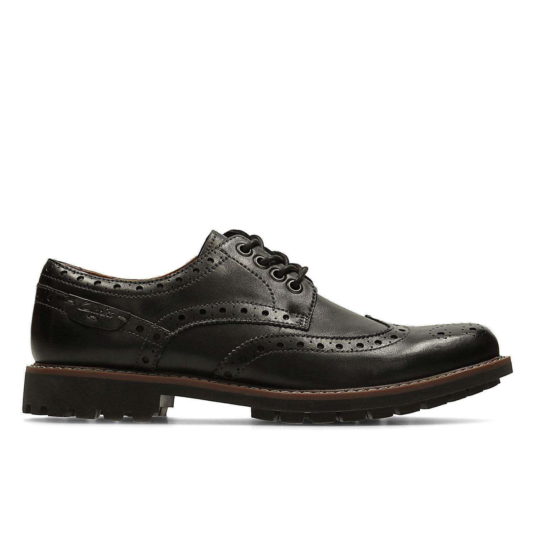 Zapatos Montacute Wing Cuero Negro TN-2380140