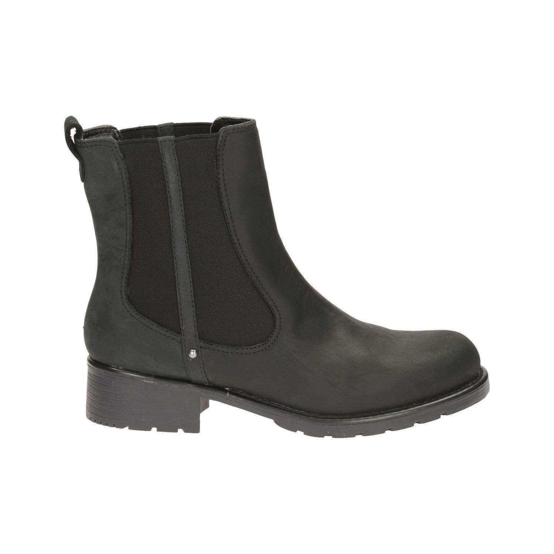 Botas Orinoco Hot Cuero Negro con Forro Termico TN-2380305