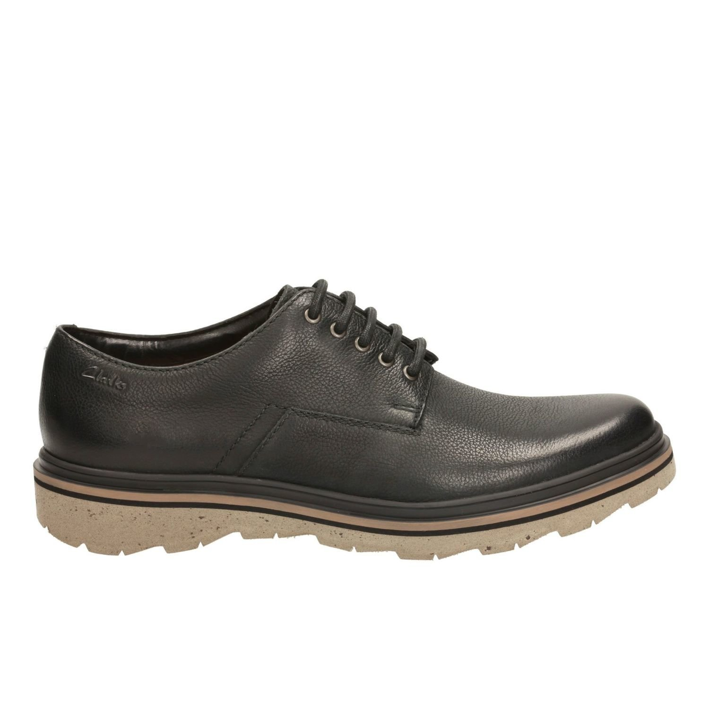 Zapatos Frelan Lace Cuero Negro TN-2380575