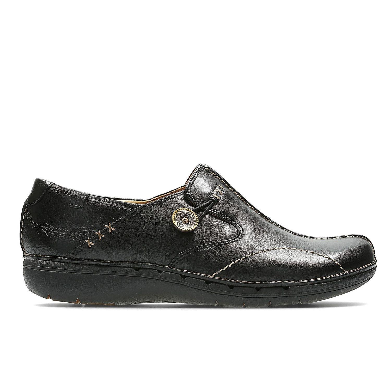 Zapatos Un Loop Cuero Negro TN-2380101