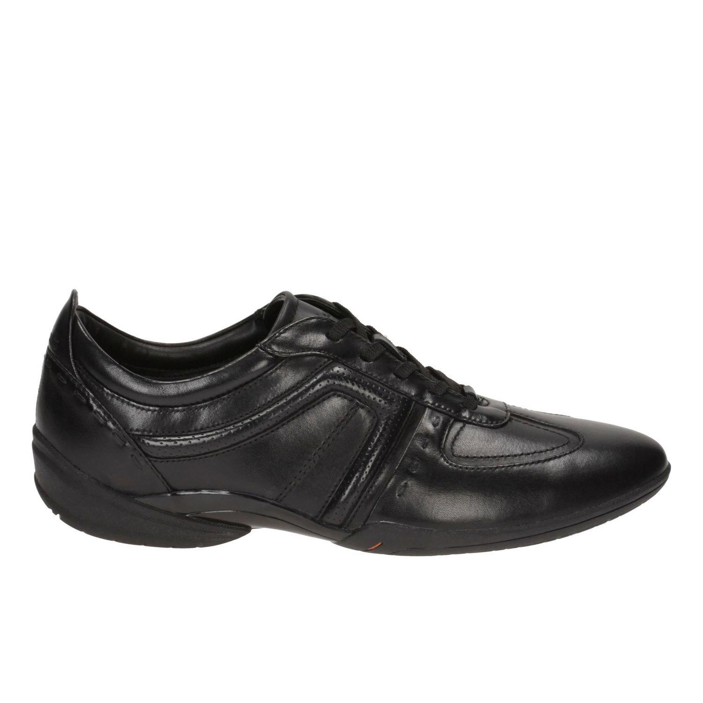 Zapatos Flux Spring Cuero Negro TN-2380139