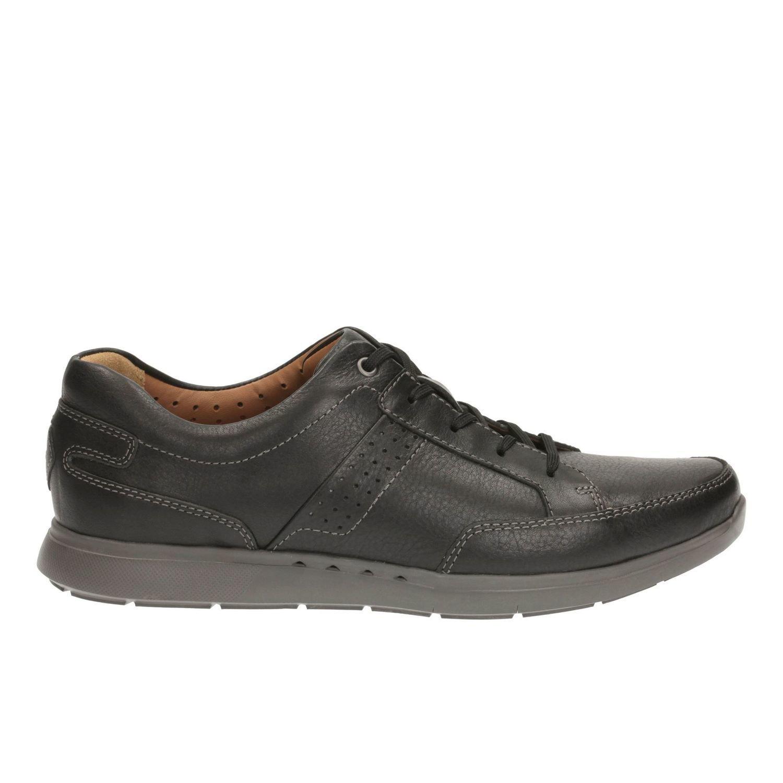 Zapatos UnLomac Lace Cuero Negro TN-2380433