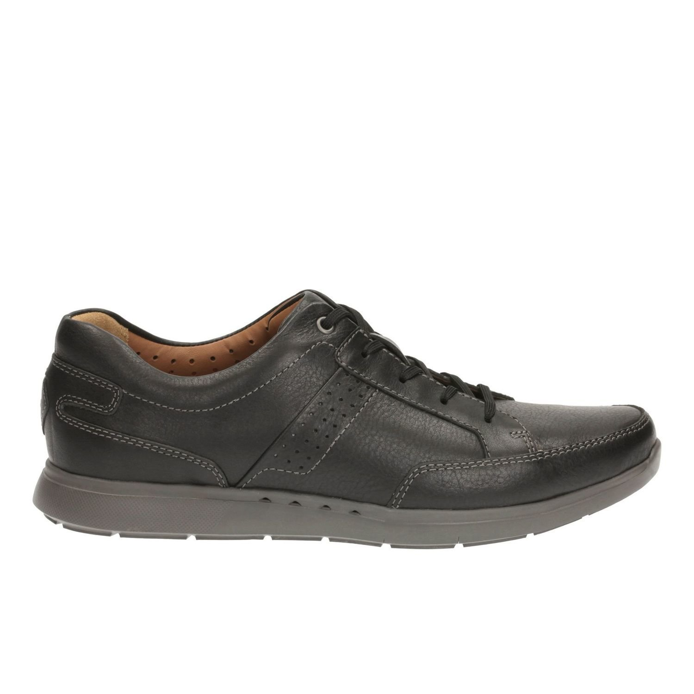 Zapatos UnLomac Lace Cuero Negro TN-2380481