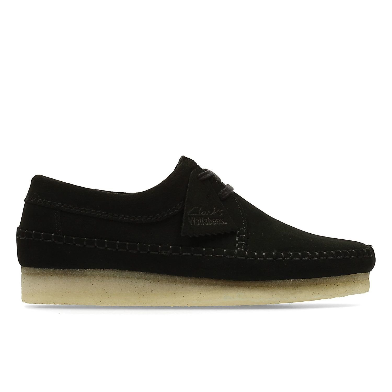 Zapatos Weaver Ante Negro TN-2380403