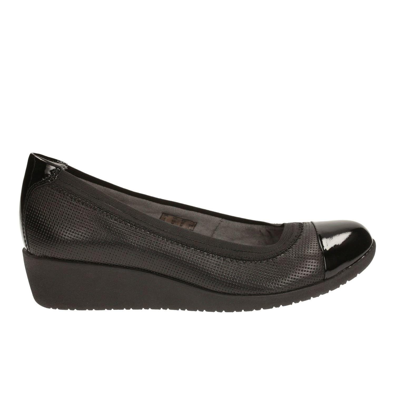 Zapatos Petula Sadie Cuero Negro TN-2380294