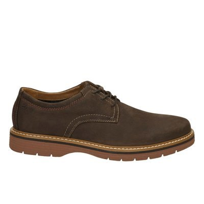 Zapatos Newkirk Plain Nobuck Marron Oscuro