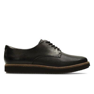 Zapatos Glick Darby Cuero Negro