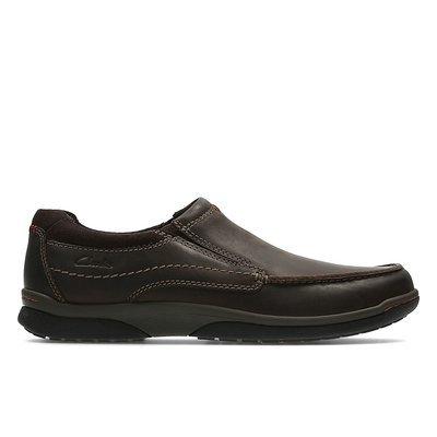 Zapatos Randle Free Cuero Marron Oscuro