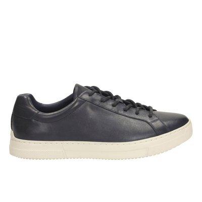 Zapatos Ballof Up Cuero Marino