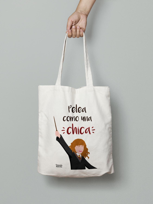 Tote-Bag Pelea como una chica ANTES 8.99€