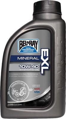 OIL - BEL-RAY EXL MINERAL 4T ENGINE OIL 10W- 40 LITER