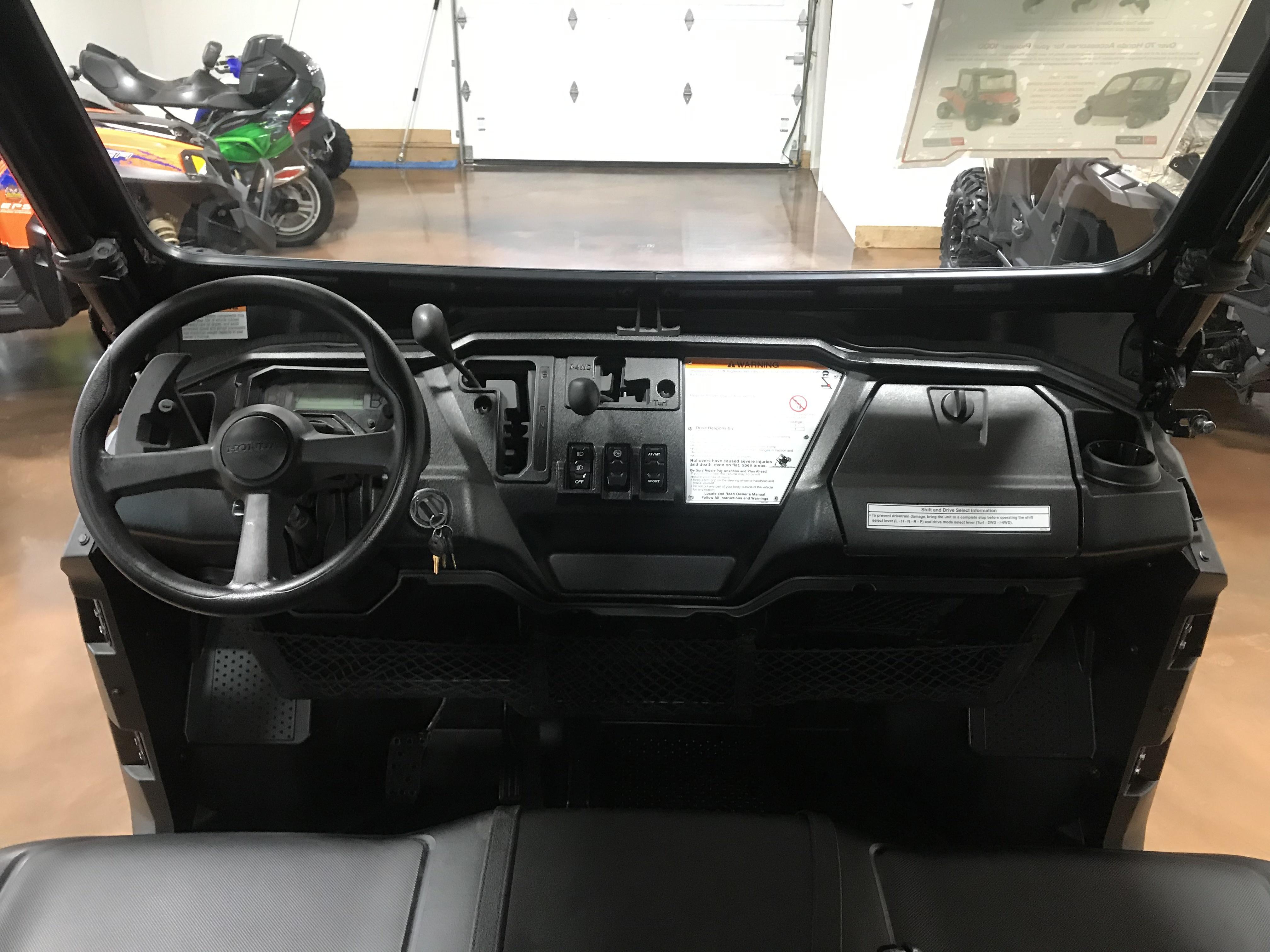 2017 Honda Pioneer 1000 EPS LE - Factory Warranty - Only 5 Miles!