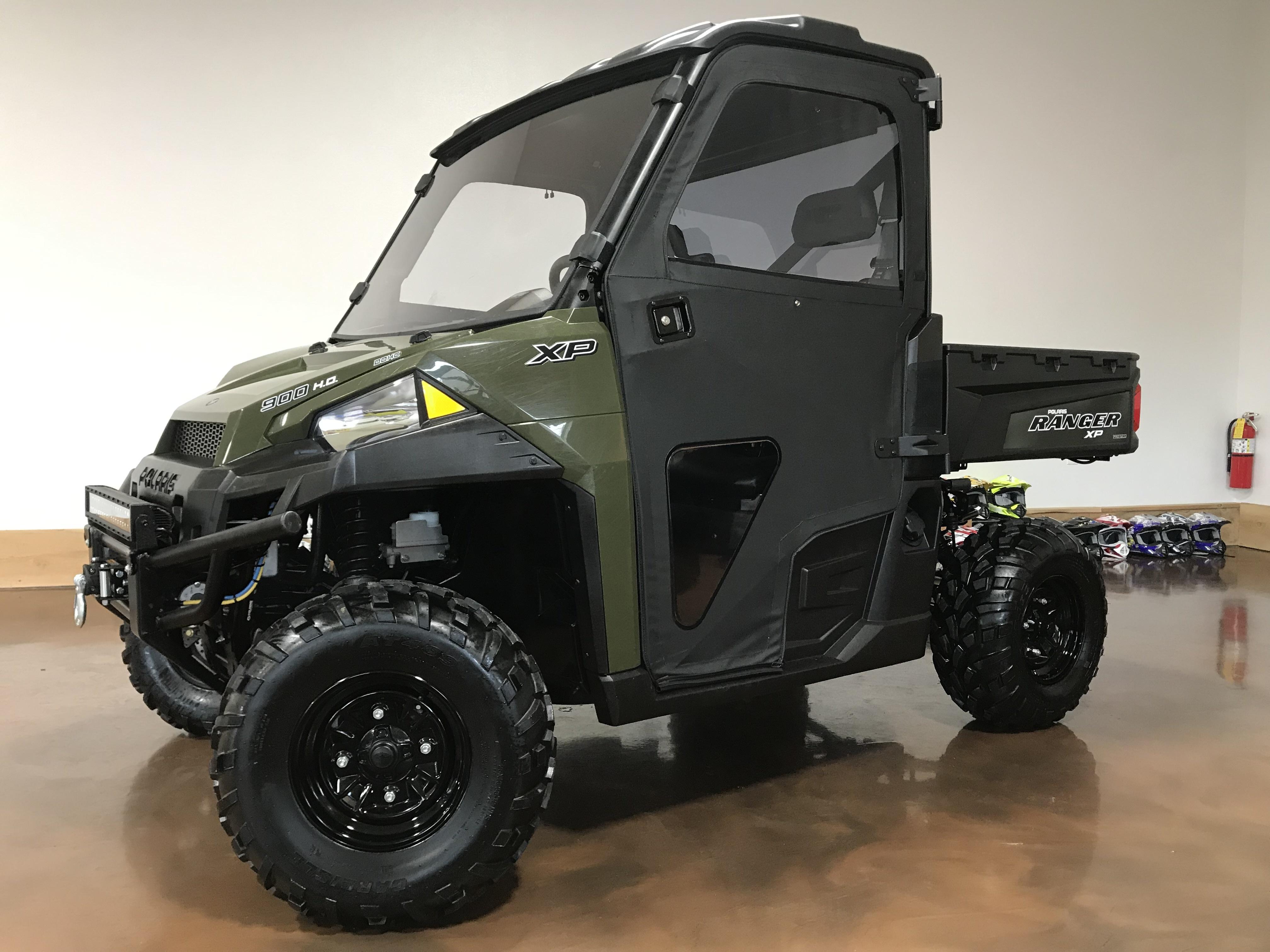 2018 Polaris Ranger XP 900 EPS - Full Cab & ONLY 540 Miles! 79839