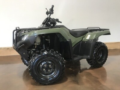 2014 Honda Rancher 420 ES - ONLY 558 Miles!