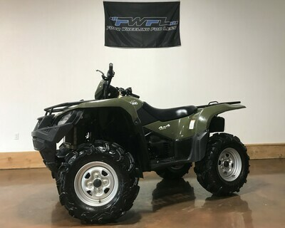 2017 Suzuki KingQuad 500 AXi - ONLY 501 Miles!