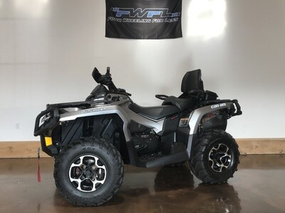 2013 Can-Am Outlander Max 650 XT - ONLY 483 Miles!