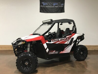 2015 Arctic Cat Wildcat Trail Limited