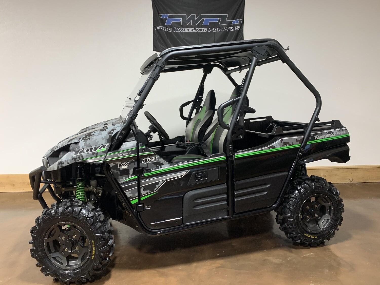 2018 Kawasaki  Teryx LE EPS - Warranty Included!