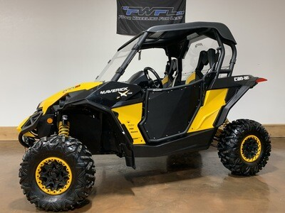 2013 Can-Am Maverick 1000 XRS EPS - Heat!