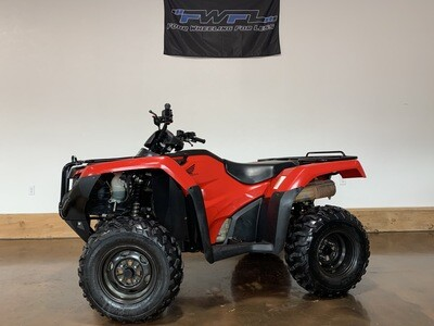 2015 Honda Rancher 420 Automatic DCT 4x4 - As low as $106/Month!