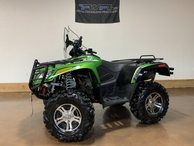 2012 Arctic Cat 700i Limited - ONLY 853 Miles!