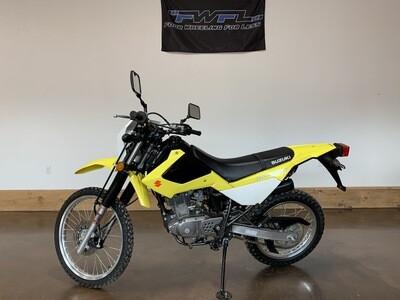 2015 Suzuki DR200S - ONLY 1628 Miles!