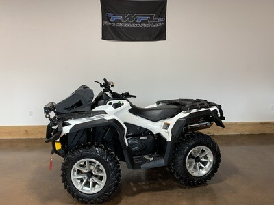 2018 Can-Am Outlander 850 North Edition - ONLY 415 Miles!