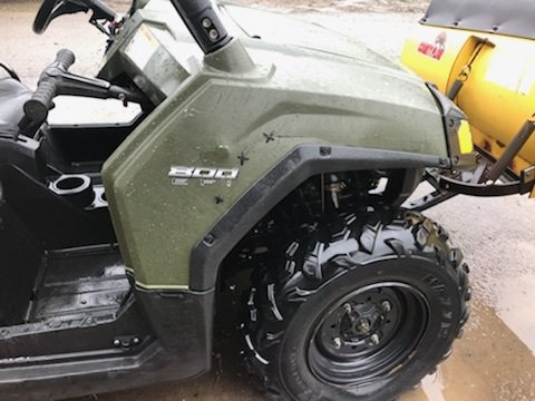 2008 Polaris RZR 800 with Plow - Reduced!