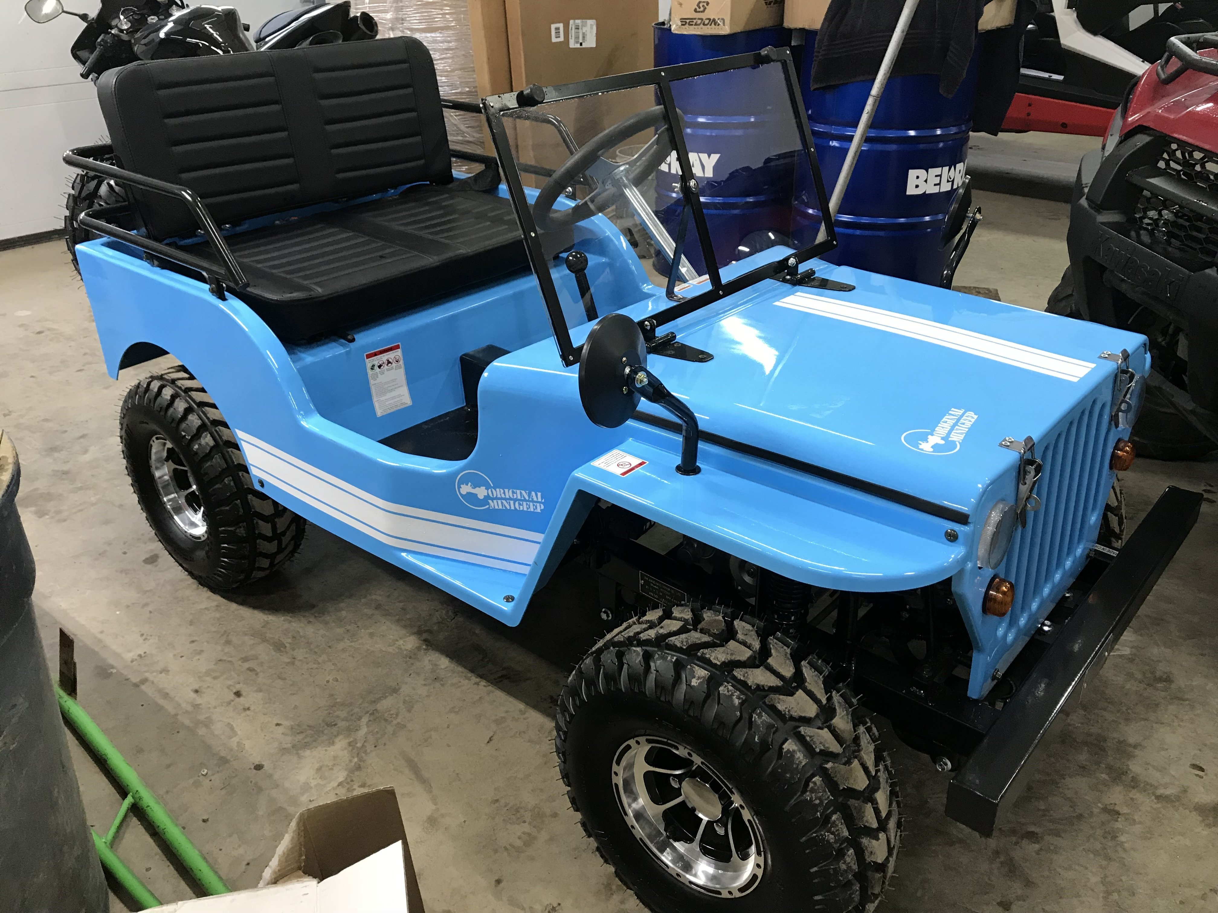 Brand New - 2017 Ice Bear Jeep 125cc