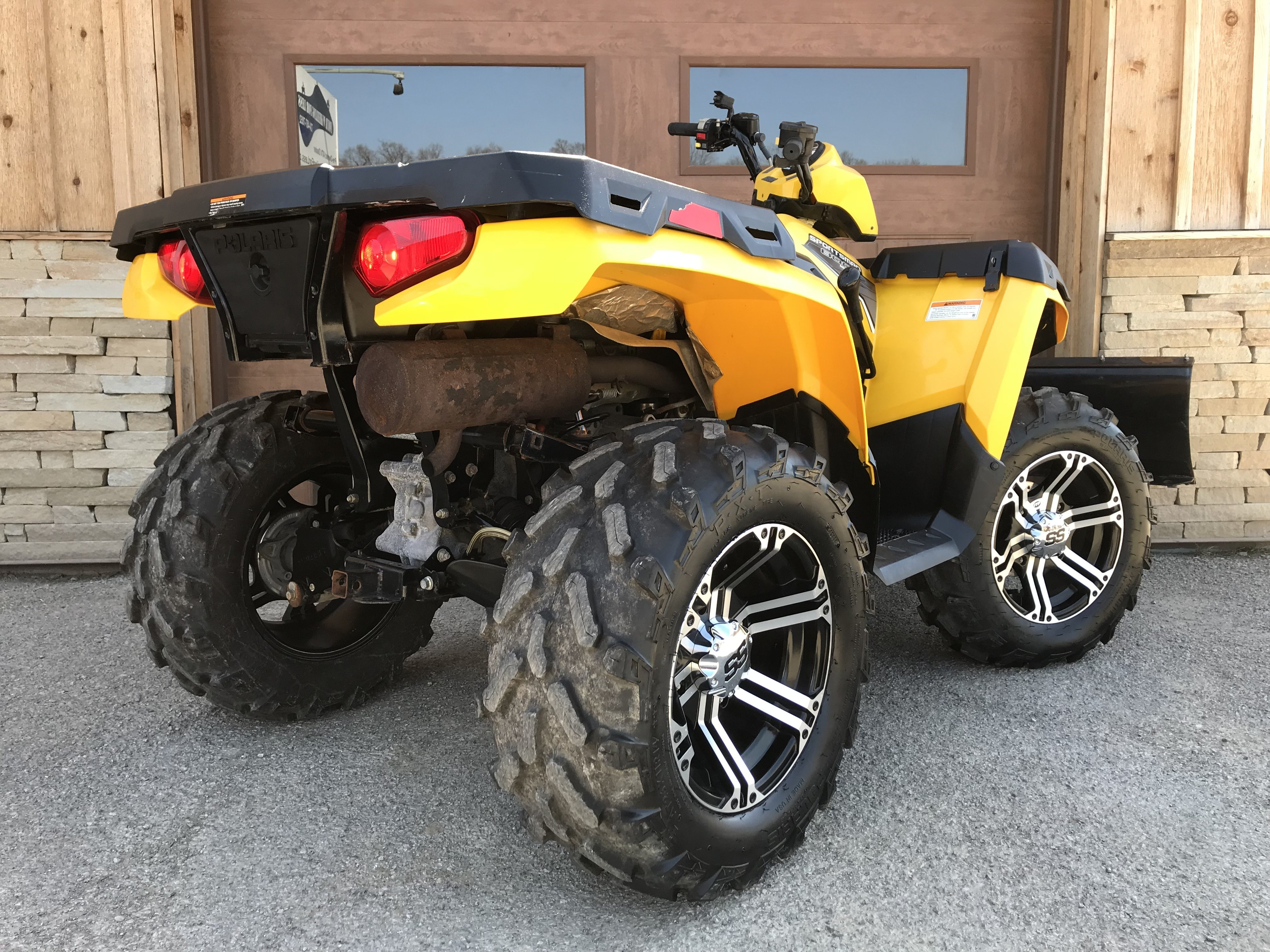 used low miles atv for sale