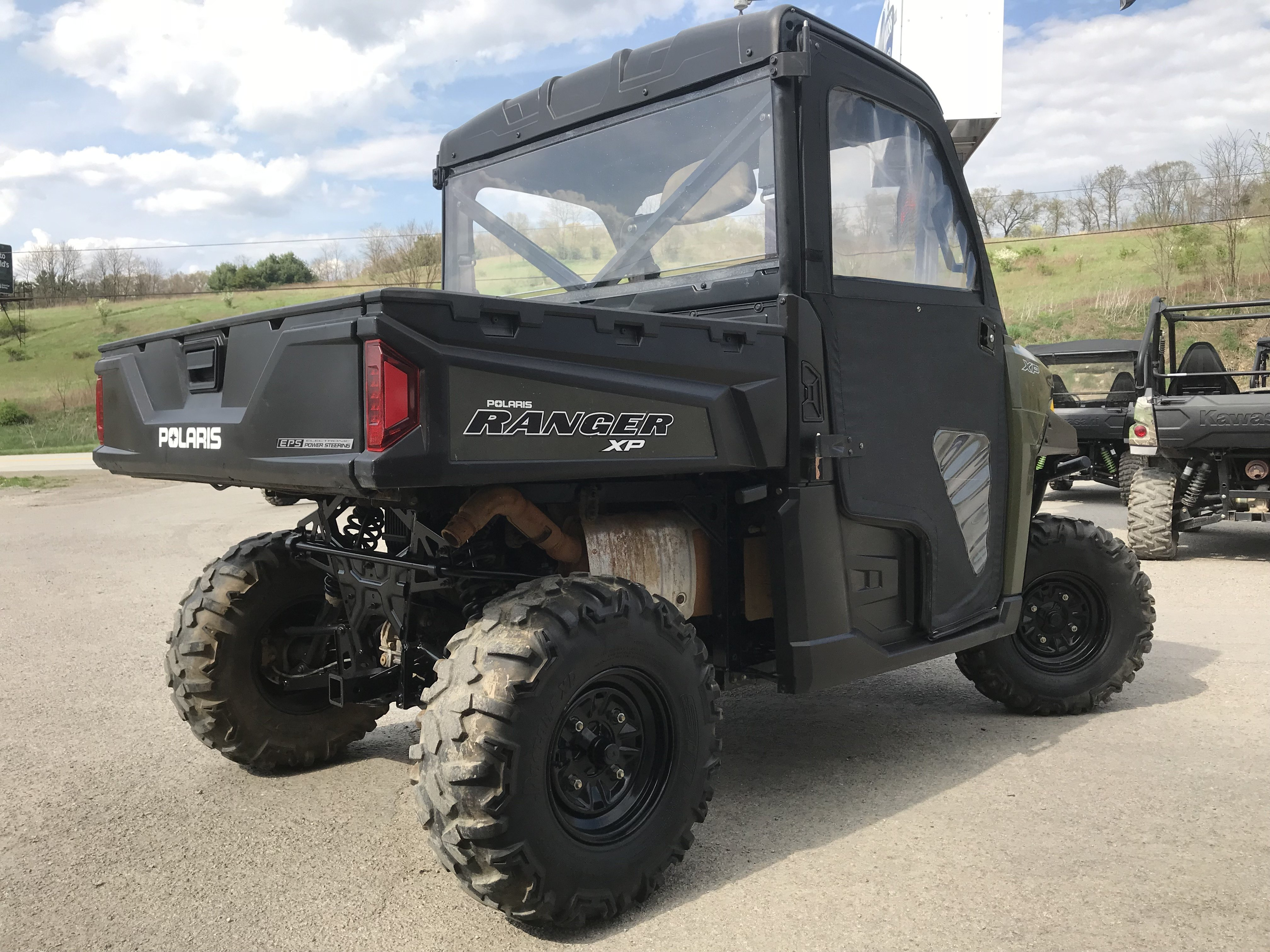 ranger fully enclosed cab for sale