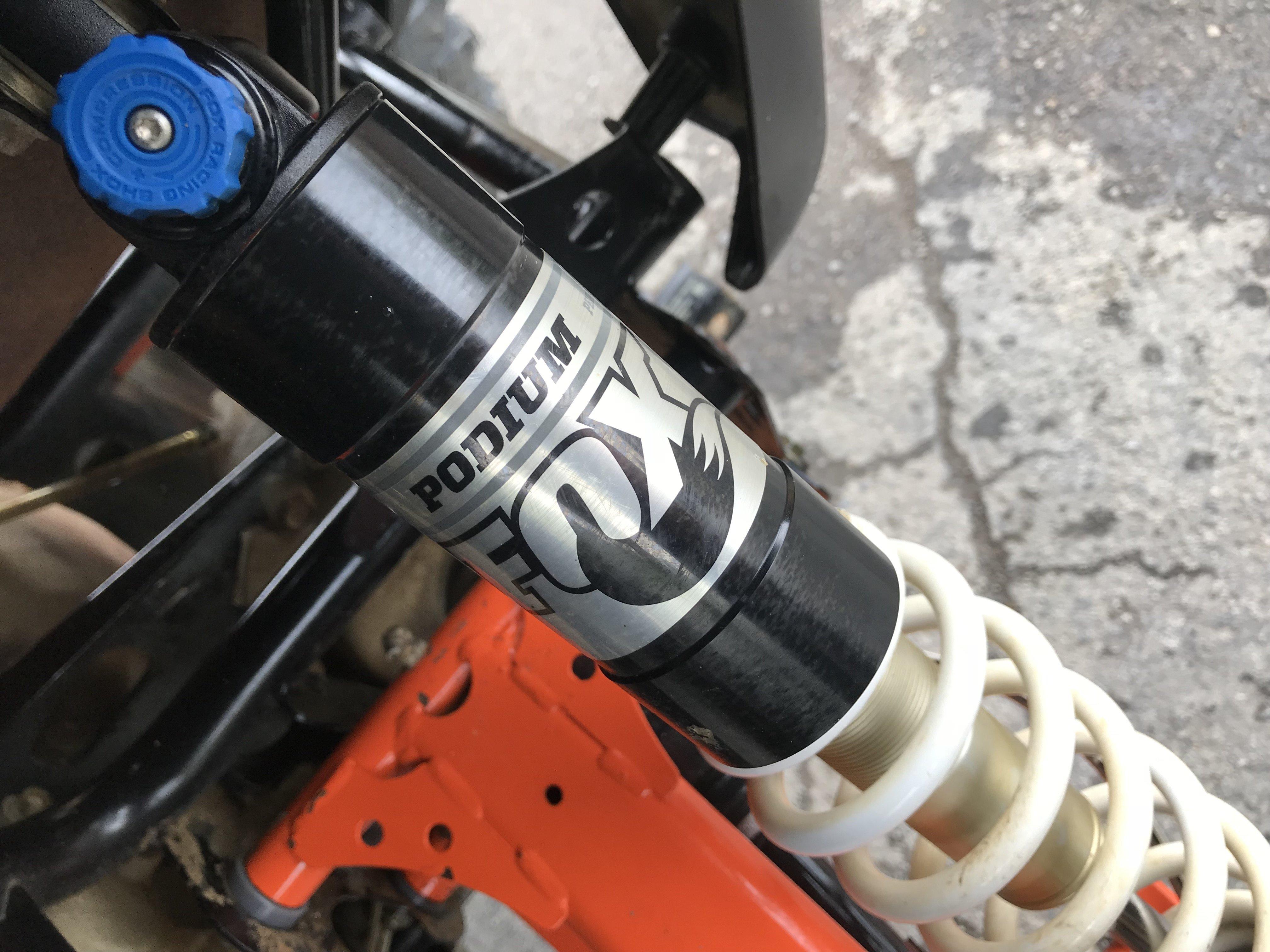 FOX racing parts accessories suspension